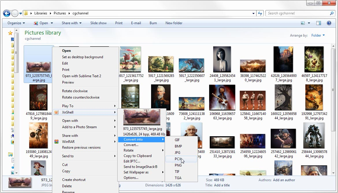 xnview windows 7 64 bits