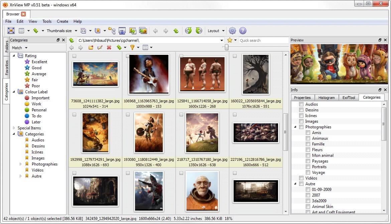 XnView MP screenshot