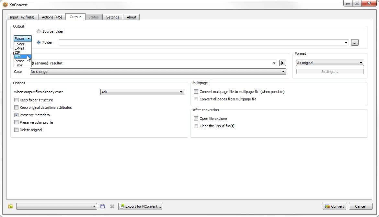 XnConvert Windows Screenshot 3